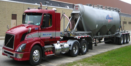 Dry Bulk Trailers: 1240 to 1500 cubic inch capacity.